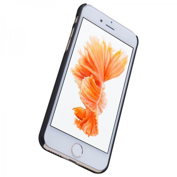 Husa Nillkin Frosted + folie protectie iPhone 7, Negru 3