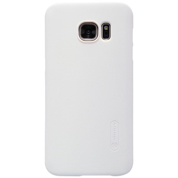 Husa Nillkin Frosted + folie protectie Samsung Galaxy S7, Alb 2