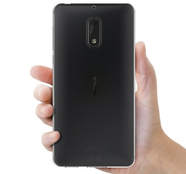 Husa Nokia 6 TPU Slim, Transparent 3
