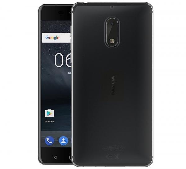 Husa Nokia 6 TPU Slim, Transparent 1