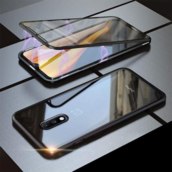 Husa OnePlus 7 Magnetic Glass 360 (sticla fata + spate), Negru [2]