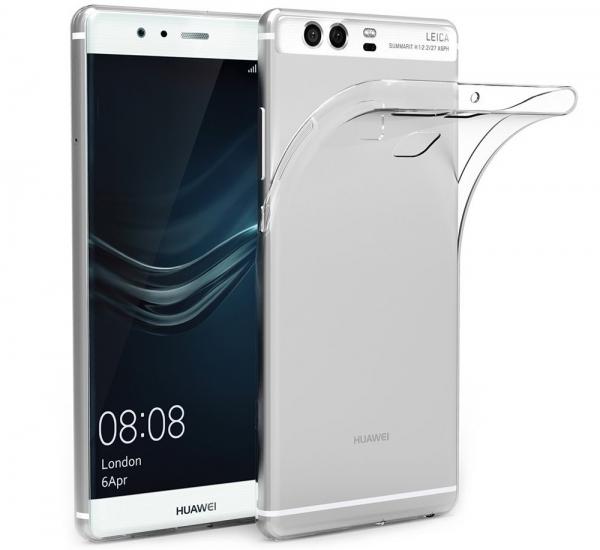 Husa protectie spate TPU Slim Huawei P9, Transparent 0