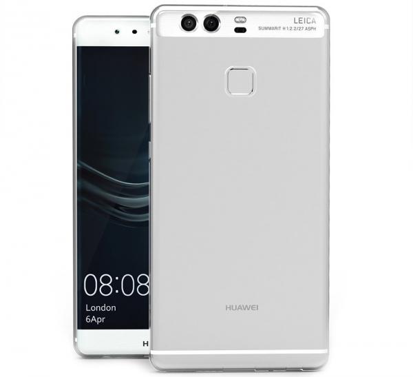 Husa protectie spate TPU Slim Huawei P9, Transparent 1