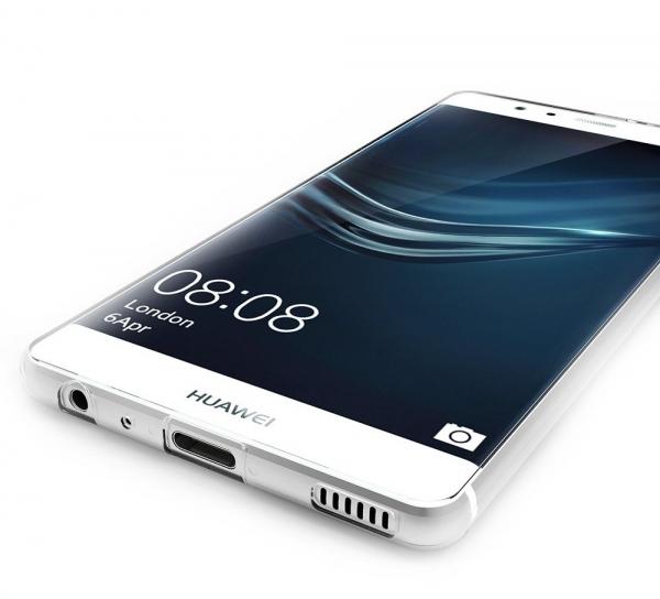 Husa protectie spate TPU Slim Huawei P9, Transparent 2