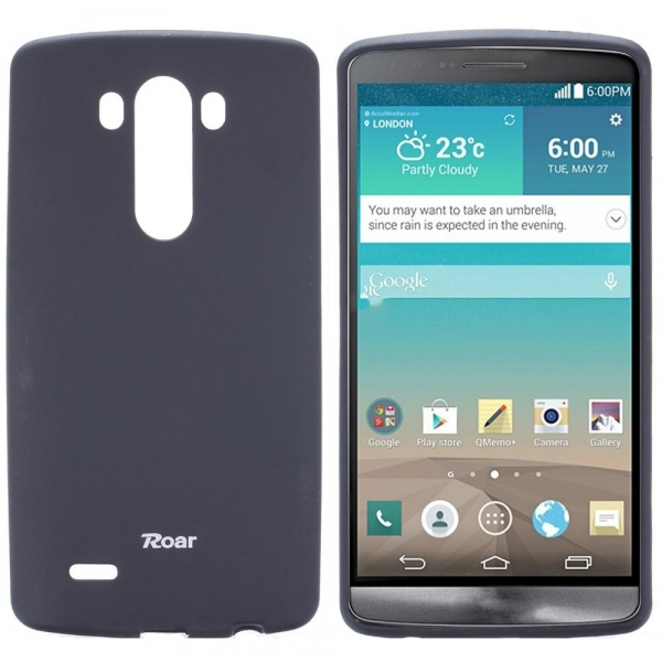 Husa Roar All Day LG G3, Negru 0