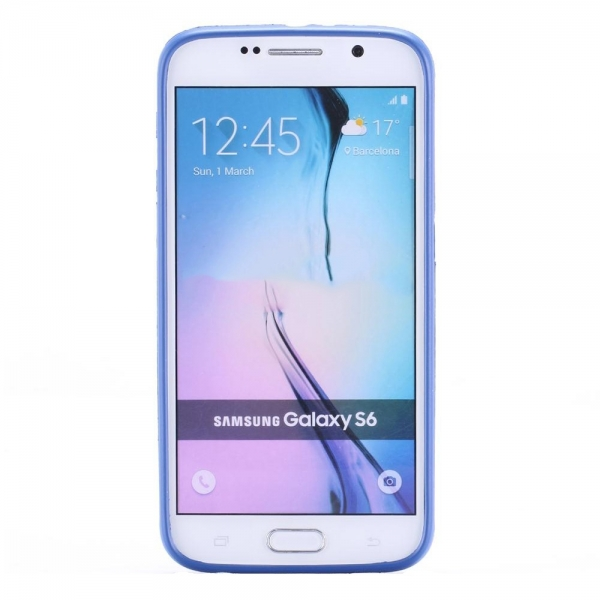 Husa Roar All Day Samsung Galaxy S6, Albastru 2