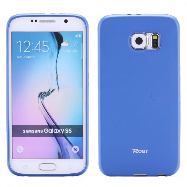 Husa Roar All Day Samsung Galaxy S6, Albastru 0
