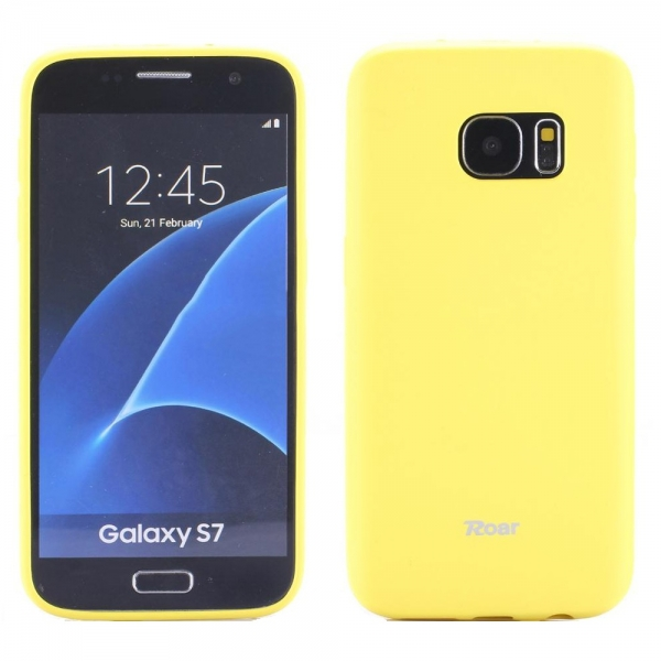 Husa Roar All Day Samsung Galaxy S7, Galben 0