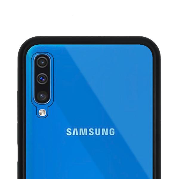 Husa Samsung Galaxy A50 Magnetic Glass 360 (sticla fata + spate), Negru 3