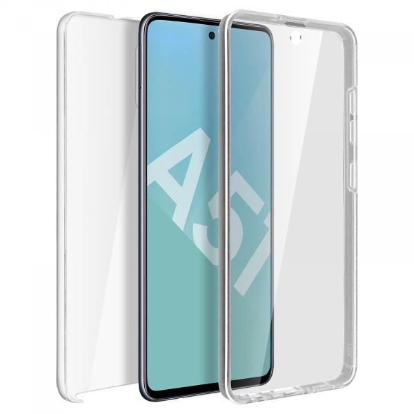 Husa Samsung Galaxy A51 Full TPU 360 (fata + spate), Transparent 0