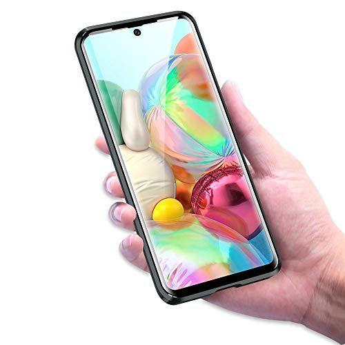 Husa Samsung Galaxy A71 Magnetic Glass 360 (sticla fata + spate), Negru 3