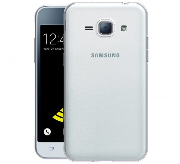 Husa Samsung Galaxy J1 (2016) TPU Slim, Transparent 1