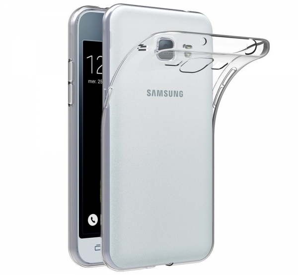 Husa Samsung Galaxy J1 (2016) TPU Slim, Transparent 0