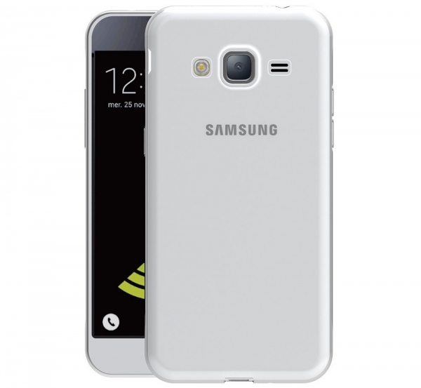 Husa Samsung Galaxy J3 (2016) TPU Slim, Transparent 1