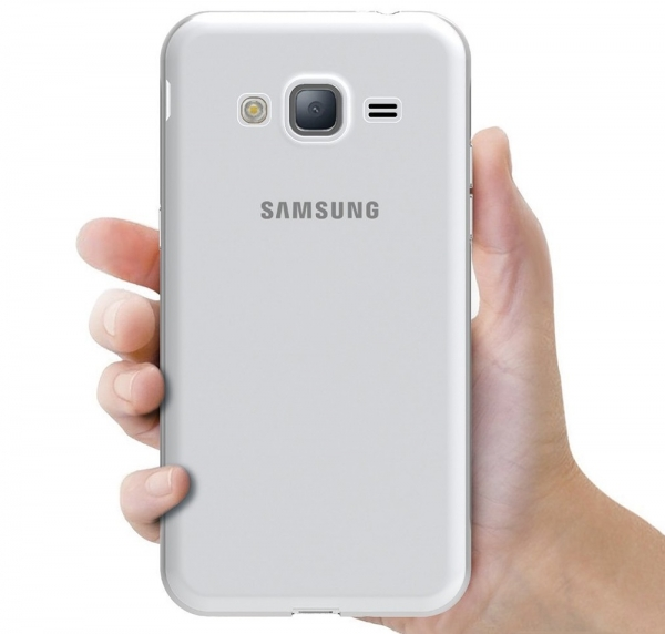 Husa Samsung Galaxy J3 (2016) TPU Slim, Transparent 3
