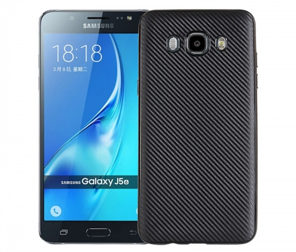 Husa Samsung Galaxy J5 (2016) i-Zore Carbon, Negru 0