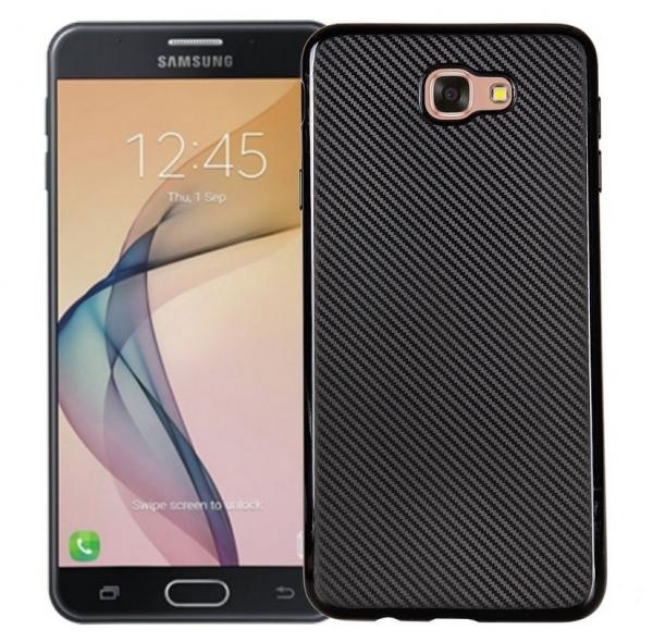 Husa Samsung Galaxy J5 Prime i-Zore Carbon, Negru 0