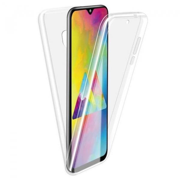 Husa Samsung Galaxy M20 Full TPU 360 (fata + spate), Transparent [0]