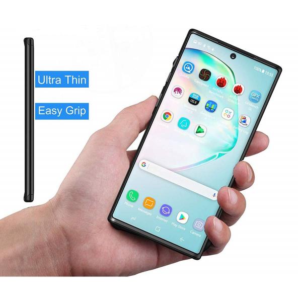Husa Samsung Galaxy Note 10 Plus Full Cover 360, Negru 2