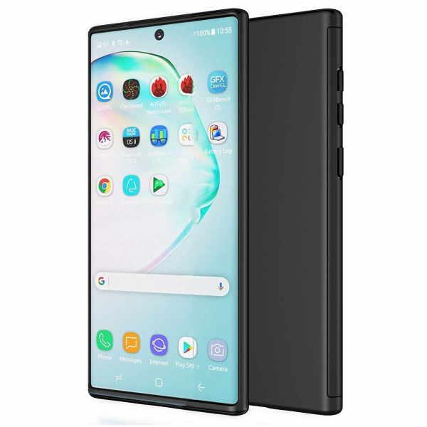 Husa Samsung Galaxy Note 10 Plus Full Cover 360, Negru 0