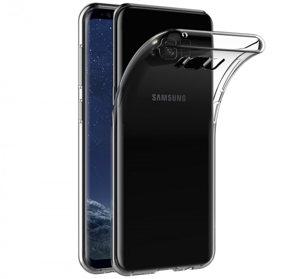 Husa Samsung Galaxy S8 Plus TPU Slim, Transparent 0
