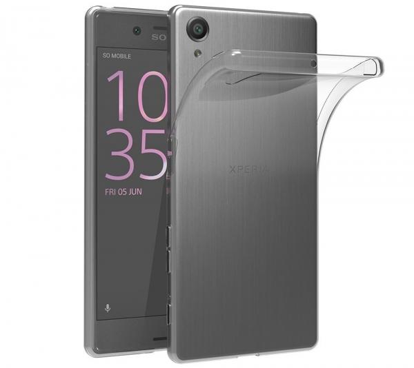 Husa Sony Xperia X Performance TPU Slim, Transparent 0