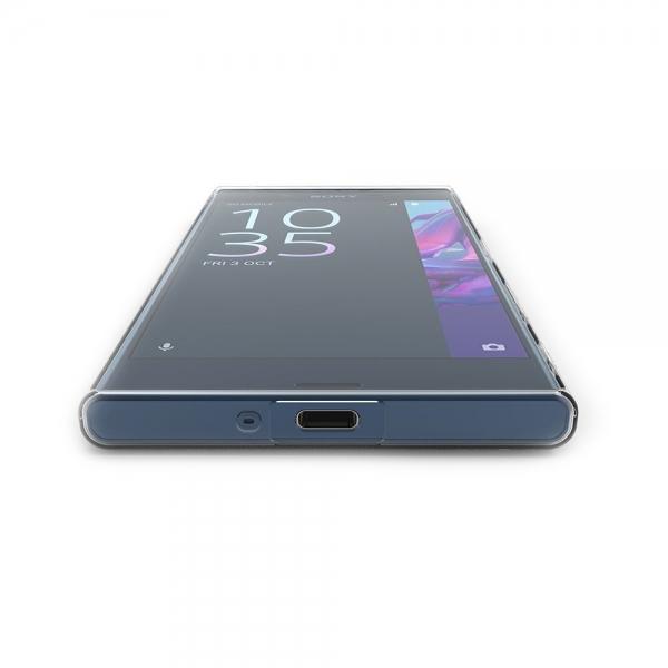 Husa Sony Xperia XZ TPU Slim, Transparent 3