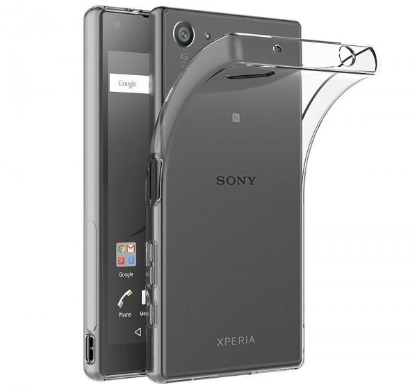 Husa Sony Xperia Z5 Compact TPU Slim, Transparent 0