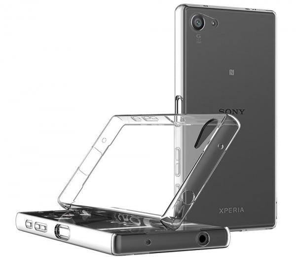 Husa Sony Xperia Z5 Compact TPU Slim, Transparent 3