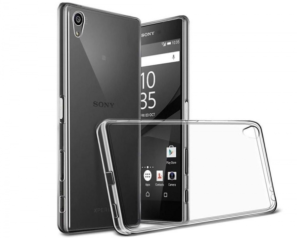 Husa Sony Xperia Z5 Premium TPU Slim, Transparent 0
