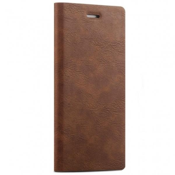 Husa tip carte Joyroom England iPhone 5 / 5S / SE, Maro 0