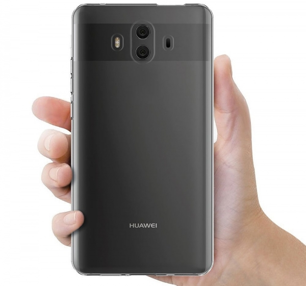 Husa TPU Slim Huawei Mate 10, Transparent 3