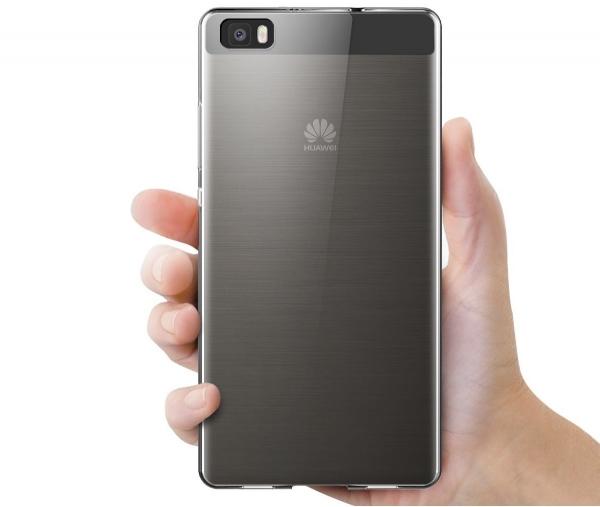 Husa TPU Slim Huawei P8 Lite, Transparent 1