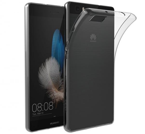 Husa TPU Slim Huawei P8 Lite, Transparent 0