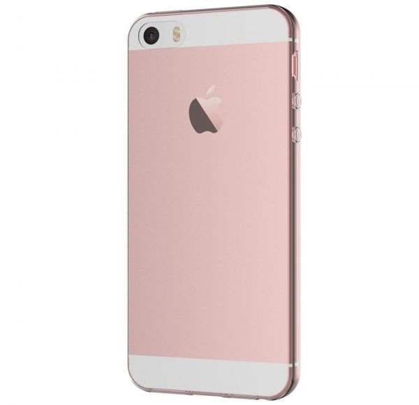 Husa TPU Slim iPhone 5 / 5S / SE, Transparent 2