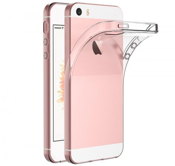Husa TPU Slim iPhone 5 / 5S / SE, Transparent 0