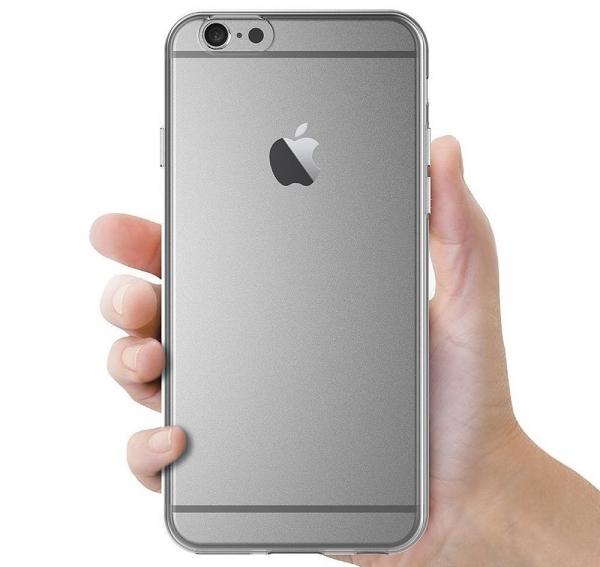 Husa TPU Slim iPhone 6 / 6S, Transparent 3