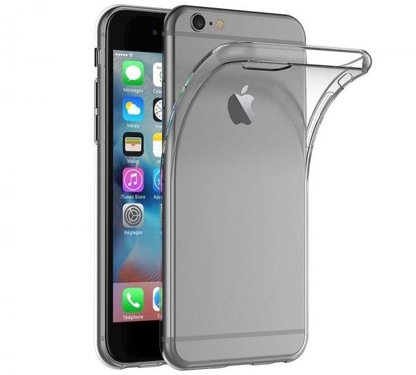 Husa TPU Slim iPhone 6 / 6S, Transparent 0