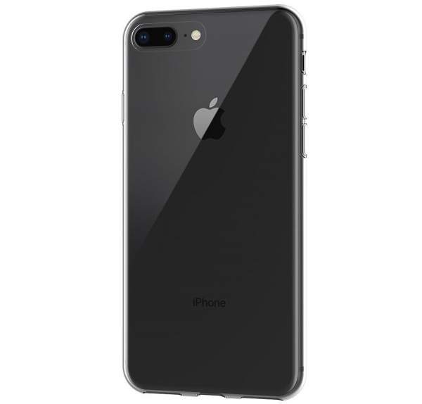 Husa TPU Slim iPhone 8 Plus, Transparent 2