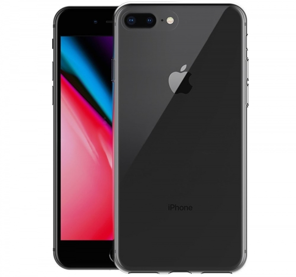 Husa TPU Slim iPhone 8 Plus, Transparent 1