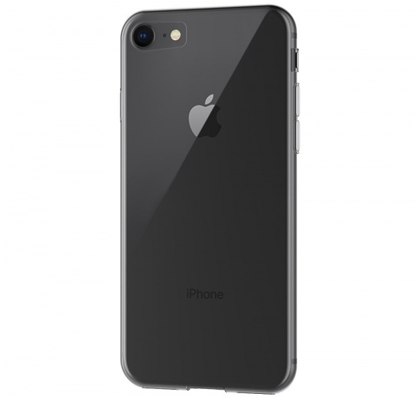 Husa TPU Slim iPhone 8, Transparent 2
