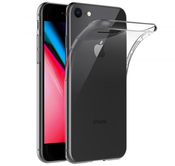 Husa TPU Slim iPhone 8, Transparent 0