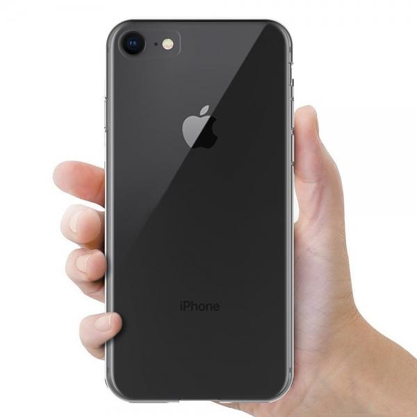Husa TPU Slim iPhone 8, Transparent [3]