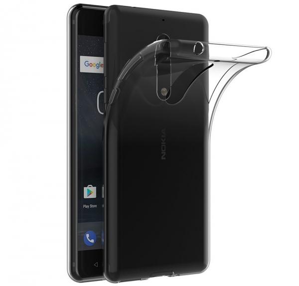 Husa TPU Slim Nokia 5, Transparent [0]