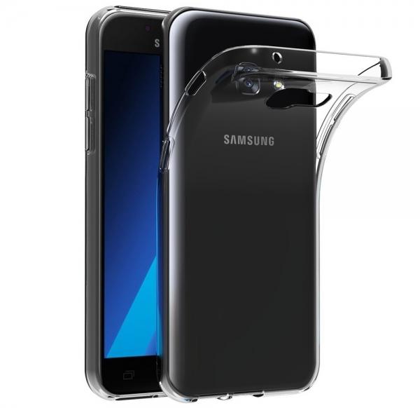 Husa TPU Slim Samsung Galaxy A3 (2017), Transparent 0
