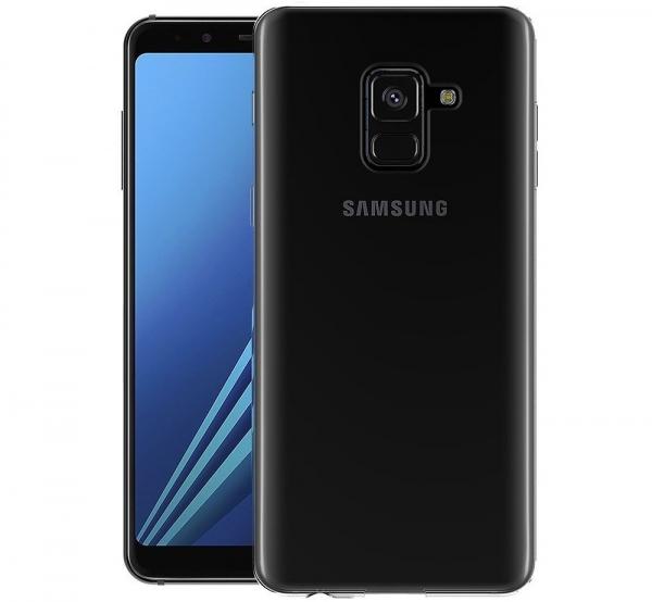 Husa TPU Slim Samsung Galaxy A8 (2018), Transparent 1