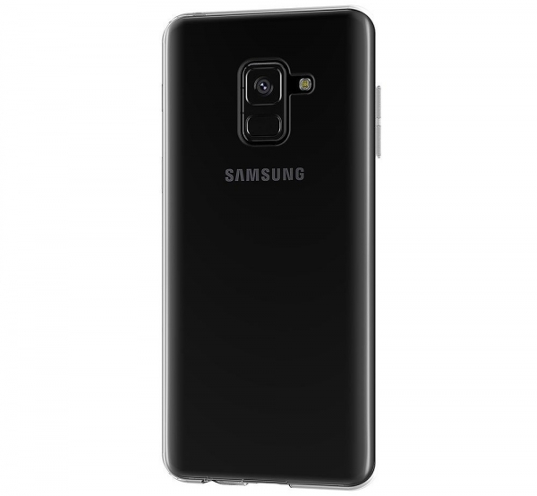 Husa TPU Slim Samsung Galaxy A8 (2018), Transparent 2
