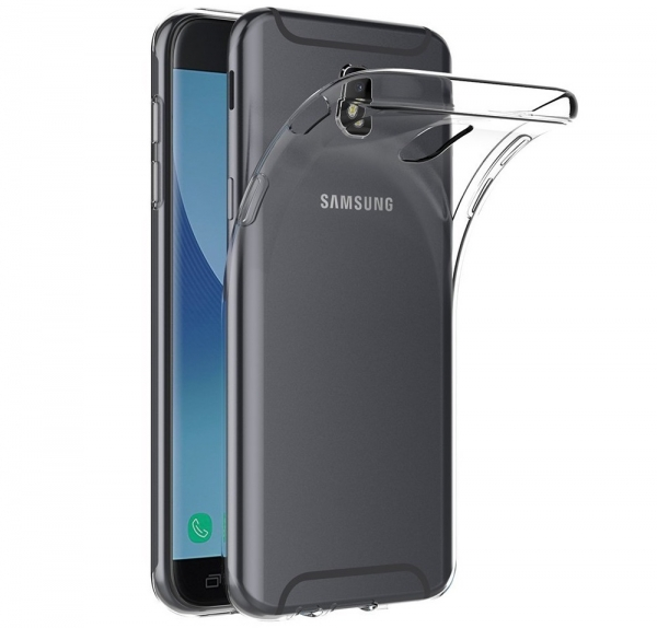 Husa TPU Slim Samsung Galaxy J7 (2017), Transparent 0