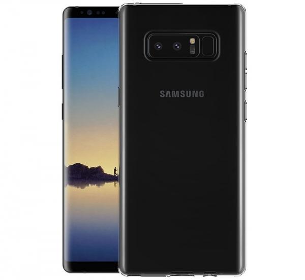 Husa TPU Slim Samsung Galaxy Note 8, Transparent 1