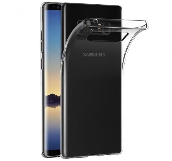Husa TPU Slim Samsung Galaxy Note 8, Transparent [0]